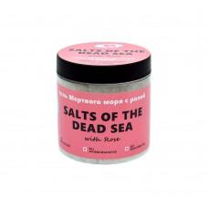 Соль Мертвого моря с розой